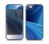The Gradient Waves of Blue Skin Set for the iPhone 5-5s Skech Glow Case