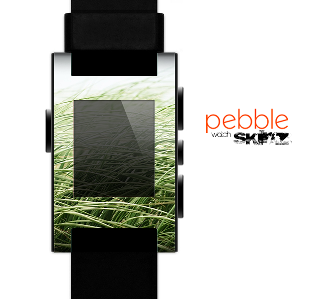 The Grassy Field Skin for the Pebble SmartWatch