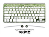The Grassy Green Skin For The Apple Wireless Keyboard