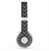 The Gray & Black Sketch Chevron Skin for the Beats by Dre Solo 2 Headphones