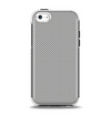 The Gray Carbon FIber Pattern Apple iPhone 5c Otterbox Symmetry Case Skin Set