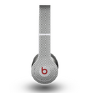 The Gray Carbon FIber Pattern Skin for the Beats by Dre Original Solo-Solo HD Headphones