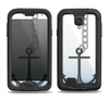 The Gray Chained Anchor Samsung Galaxy S4 LifeProof Nuud Case Skin Set