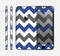 The Gray & Navy Blue Chevron Skin for the Apple iPhone 6