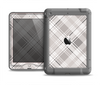 The Gray & White Plaid Layered Pattern V5 Apple iPad Air LifeProof Nuud Case Skin Set