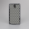 The Gray & White Seamless Morocan Pattern Skin-Sert Case for the Samsung Galaxy Note 3