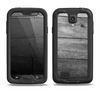The Gray Worn Wooden Planks Samsung Galaxy S4 LifeProof Fre Case Skin Set