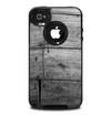 The Gray Worn Wooden Planks Skin for the iPhone 4-4s OtterBox Commuter Case
