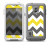 The Gray & Yellow Chevron Pattern Skin Samsung Galaxy S5 frē LifeProof Case