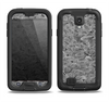 The Grayscale Flower Petals Samsung Galaxy S4 LifeProof Fre Case Skin Set