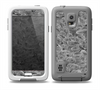 The Grayscale Flower Petals Skin for the Samsung Galaxy S5 frē LifeProof Case