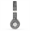 The Grayscale Flower Petals Skin for the Beats by Dre Solo 2 Headphones
