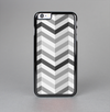 The Grayscale Gradient Chevron Zigzag Pattern Skin-Sert Case for the Apple iPhone 6 Plus