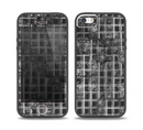 The Grayscale Layer Checkered Pattern Skin Set for the iPhone 5-5s Skech Glow Case