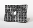"The Grayscale Lattice and Flowers Skin Set for the Apple MacBook Pro 15"" with Retina Display"