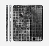 The Grayscale Lattice and Flowers Skin for the Apple iPhone 6 Plus