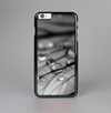 The Grayscale Watered Leaf Skin-Sert Case for the Apple iPhone 6 Plus