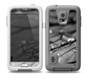 The Grayscale Watered Leaf Skin Samsung Galaxy S5 frē LifeProof Case