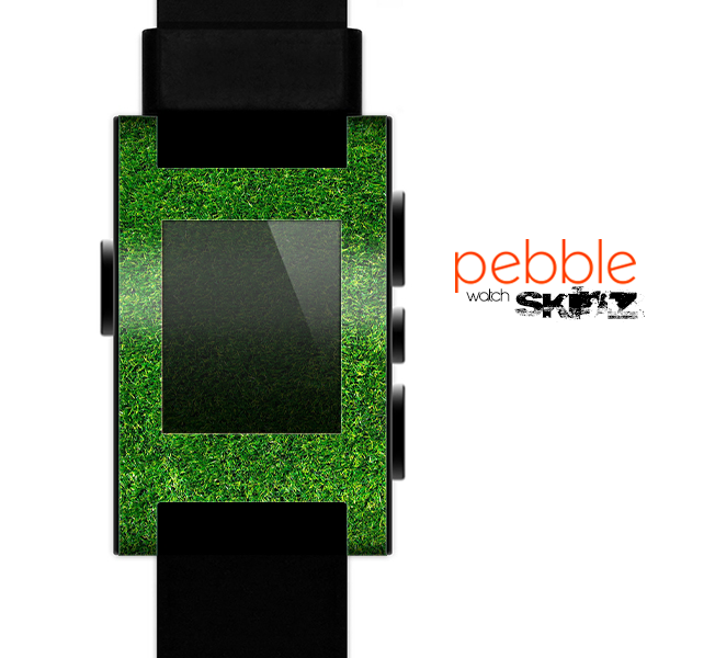 The GreenTurf Skin for the Pebble SmartWatch