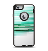 The Green Abstract Vector HD Lines Apple iPhone 6 Otterbox Defender Case Skin Set
