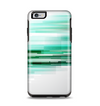 The Green Abstract Vector HD Lines Apple iPhone 6 Plus Otterbox Symmetry Case Skin Set