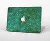 The Green And Gold Vintage Scissors Skin for the Apple MacBook Pro Retina 15""
