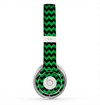 The Green & Black Chevron Pattern Skin for the Beats by Dre Solo 2 Headphones