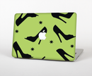 "The Green & Black High-Heel Pattern V12 Skin Set for the Apple MacBook Pro 15"" with Retina Display"
