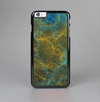 The Green, Blue and Brown Water Texture Skin-Sert Case for the Apple iPhone 6 Plus