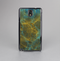 The Green, Blue and Brown Water Texture Skin-Sert Case for the Samsung Galaxy Note 3