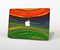 "The Green, Blue and Red Painted Oil Waves Skin Set for the Apple MacBook Pro 15"" with Retina Display"