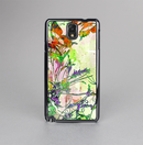 The Green Bright Watercolor Floral Skin-Sert Case for the Samsung Galaxy Note 3