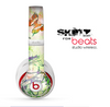 The Green Bright Watercolor Floral Skin for the Beats by Dre Studio Wireless Headphones