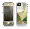 The Green Geometric Gradient Pattern Skin for the iPhone 5-5s OtterBox Preserver WaterProof Case