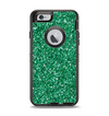 The Green Glitter Print Apple iPhone 6 Otterbox Defender Case Skin Set