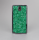 The Green Glitter Print Skin-Sert Case for the Samsung Galaxy Note 3