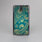 The Green & Gold Lace Pattern Skin-Sert Case for the Samsung Galaxy Note 3