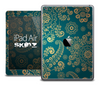 The Green Lace V2 Skin for the iPad Air