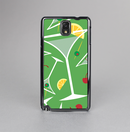 The Green Martini Drinks With Lemons Skin-Sert Case for the Samsung Galaxy Note 3