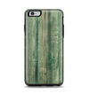 The Green Tinted Wood Planks Apple iPhone 6 Plus Otterbox Symmetry Case Skin Set