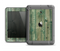 The Green Tinted Wood Planks Apple iPad Air LifeProof Fre Case Skin Set