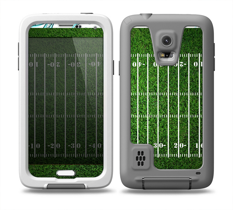 The Green Turf Football Field Skin for the Samsung Galaxy S5 frē LifeProof Case