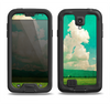 The Green Vintage Field Scene Samsung Galaxy S4 LifeProof Nuud Case Skin Set