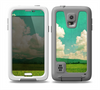 The Green Vintage Field Scene Skin for the Samsung Galaxy S5 frē LifeProof Case
