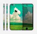 The Green Vintage Field Scene Skin for the Apple iPhone 6