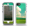 The Green Vintage Field Scene Skin for the iPhone 5-5s OtterBox Preserver WaterProof Case