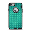 The Green Wavy Abstract Pattern Apple iPhone 6 Otterbox Defender Case Skin Set