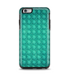 The Green Wavy Abstract Pattern Apple iPhone 6 Plus Otterbox Symmetry Case Skin Set
