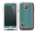 The Green & White Wavy Squares Skin for the Samsung Galaxy S5 frē LifeProof Case
