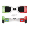 The Green, White and Red Flag Wood Full-Body Skin Set for the Smart Drifting SuperCharged iiRov HoverBoard